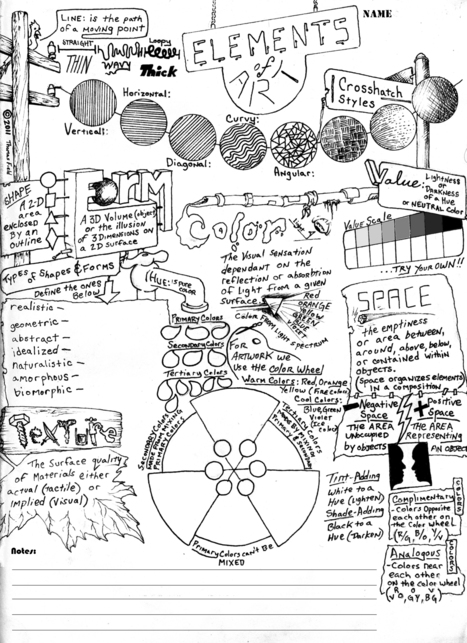 Printables Elements And Principles Of Art Worksheet elements and principles of design student worksheet intrepidpath art scoop it