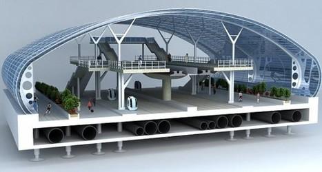 Une station spatiale au coeur de l'Arctique | Architecture pour tous | Scoop.it