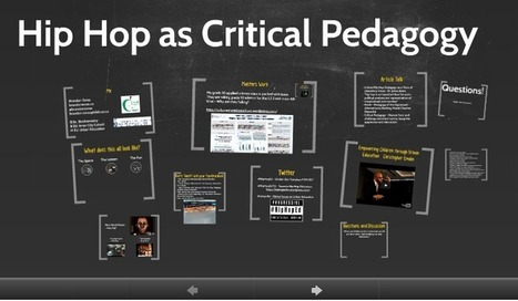 Hip Hop as Critical Pedagogy - Rhymes to Re-Education #HipHopEd #RhymesEdu | 21st Century Literacy and Learning | Scoop.it