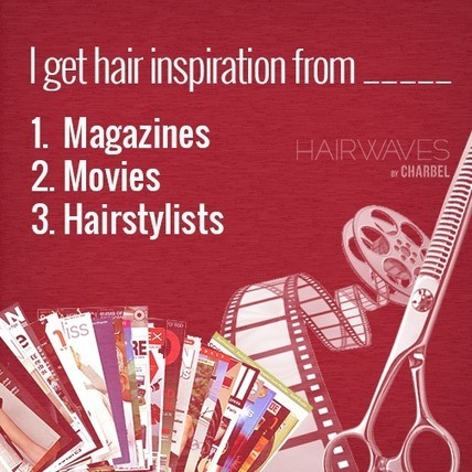 I get hair inspiration from... | Latest And Trendiest Hairstyling Techniques | Scoop.it