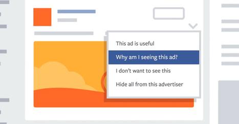 Facebook traquera les sites web que vous visitez pour cibler les pubs | Sphère des Médias Sociaux | Scoop.it