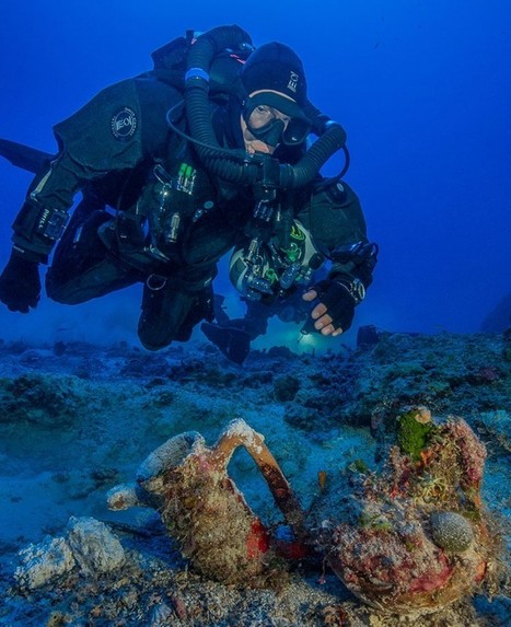 Antikythera shipwreck excavated by marine archaeologists | LVDVS CHIRONIS 3.0 | Scoop.it