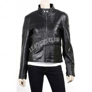 Black Color Slim Fit Leather Jacket   Men's Leather Jackets   Scoop.it