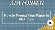 Basics of APA Style   APA   Scoop.it