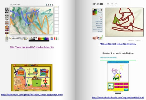 TICE et art. Applications interactives pour créer, dessiner en ligne. | Technopédago | Scoop.it