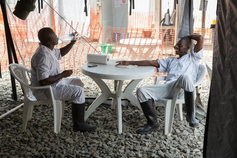 'US-built #Ebola treatment centers nearly empty as epidemic fades #Liberia | News You Can Use - NO PINKSLIME | Scoop.it