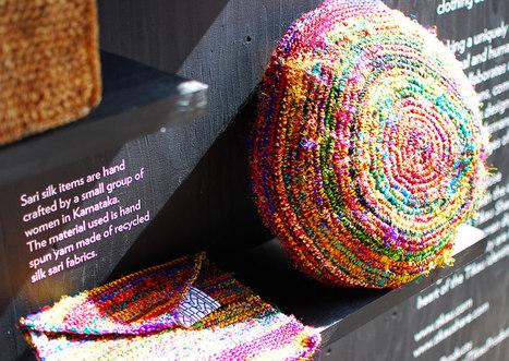 Recycled Saris | BeBetter | Scoop.it
