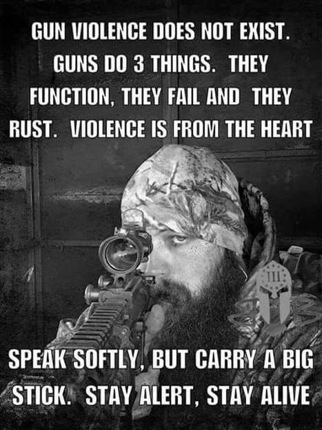 """There's no such thing as  """"Gun Violence"""" it's an anti #2A propagandist term. LL #2A 