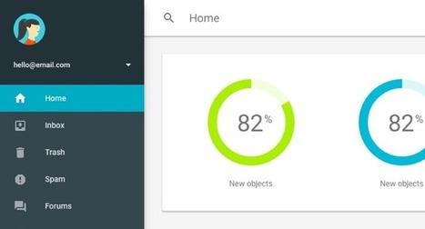 Google sort un outil pour créer des sites « Material Design » | netnavig | Scoop.it