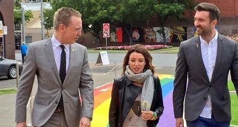 Adelaide launches rainbow footpath to honour LGBTI people | Gay News | Scoop.it
