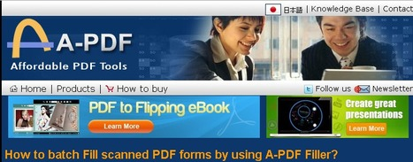 Fill out the PDF forms with A-PDF Fille   Fill out the PDF forms with A-PDF Filler   Scoop.it