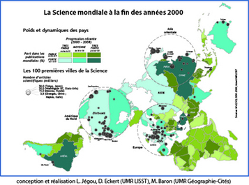 Une nouvelle géographie mondiale des villes de science se dessine | Higher Education and academic research | Scoop.it