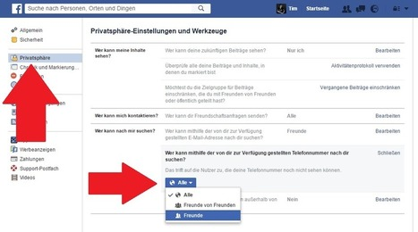 Logik-Fehler bei Facebook: Deshalb sollten Sie sofort Ihre Privatsphäre-Einstellungen checken | Social Media and its influence | Scoop.it