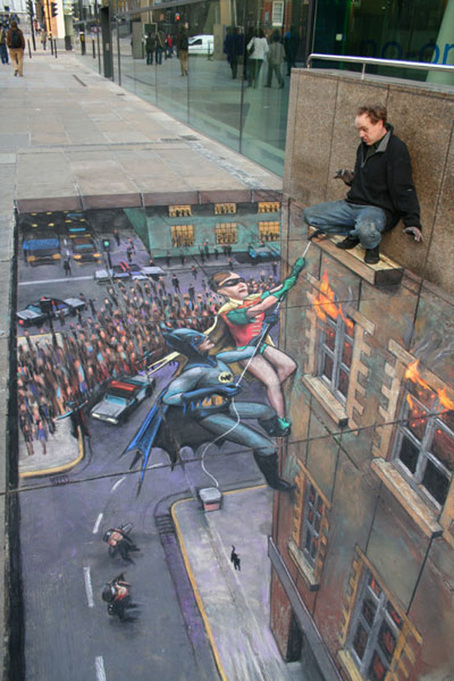 Street art: 32 incredible examples | Street art #art #streetart #publicart #murals | street art | Scoop.it