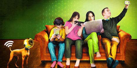 Nos écrans nous coupent-ils la parole?   Les réseaux sociaux - EPN Cyberglac' La Glacerie   Scoop.it