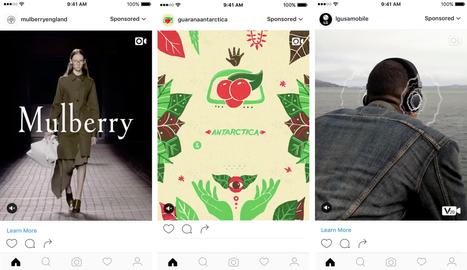 Les publicités verticales arrivent sur Instagram - Blog du Modérateur | Reseaux sociaux et tourisme | Scoop.it