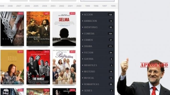 Una nueva web de descargas ilegales utiliza la imagen de Mariano Rajoy | Partido Popular, una visión crítica | Scoop.it