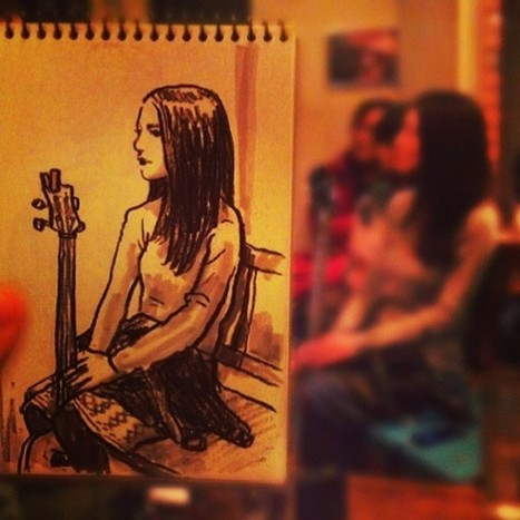 """Tokyo Artist """"Speed Sketches"""" the People Around Him   World Wide Web in my life   Scoop.it"""