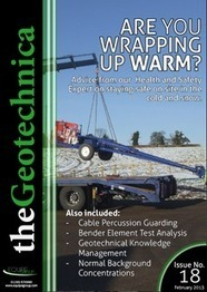 theGeotechnica - Issue 18 - February 2013   geotecnia   Scoop.it