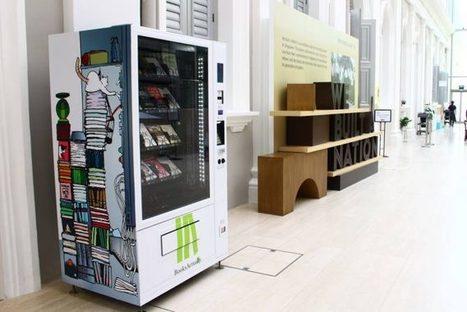 Books Machine : Singapour se dote de ses premiers distributeurs de livres | TOURISME OENOLOGIE | Scoop.it