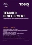 IATEFL Teacher Development SIG newsletter | TELT | Scoop.it