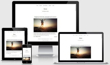 BTemplates: Davis Blogger Template | Blogger themes | Scoop.it