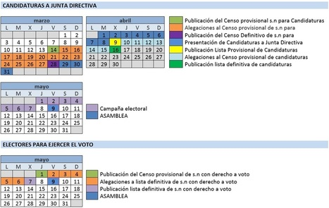 Calendario Electoral Asamblea General 2014 RUEPEP | Estudios de Postgrado y Educación Permanente | Scoop.it