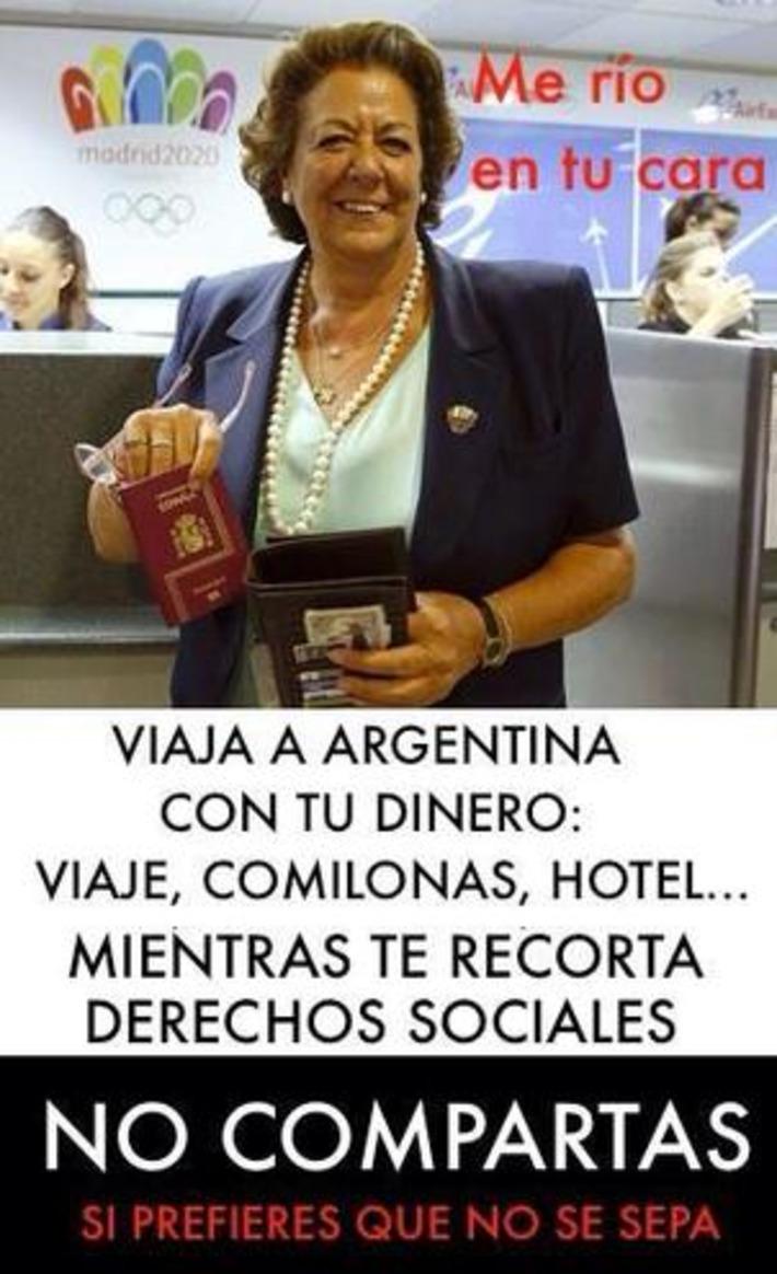 Twitter / rhb_rober: Rita Barberá.. La gran ... | Partido Popular, una visión crítica | Scoop.it