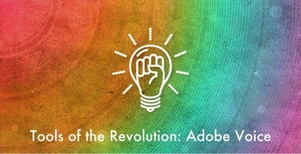 Tools Of The eLearning Revolution: Adobe Voice - eLearning Industry | Linguagem Virtual | Scoop.it