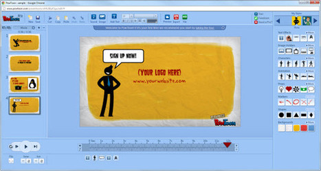 10 Best Software Tools to Create Animated Videos Online | Small Business | Scoop.it
