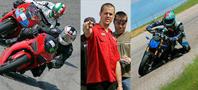 Penguin Revs New Jersey with Ducati | New Jersey Motorsports Park | May 7, 2012 | Ductalk | Scoop.it