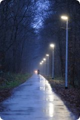 Uniek verlicht fietspad in Hamont-Achel! | klimaattrefdag2014 | Scoop.it