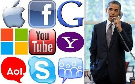 The NSA Is Funneling Your Internet Life from Silicon Valley to Obama's Desk | An Eye on New Media | Scoop.it