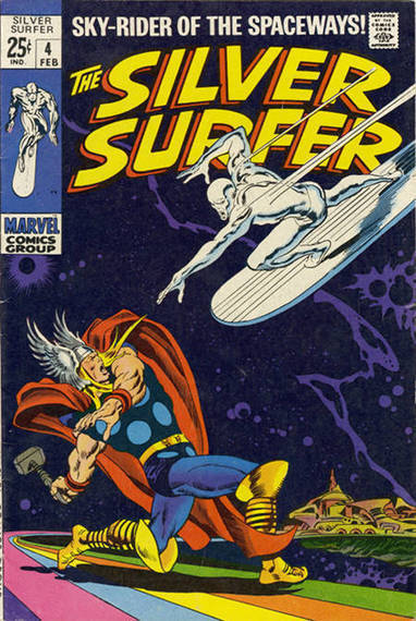 "Bronze Age Babies: Karen's and Doug's Favorites: Silver Surfer 4 | Jack ""King"" Kirby 