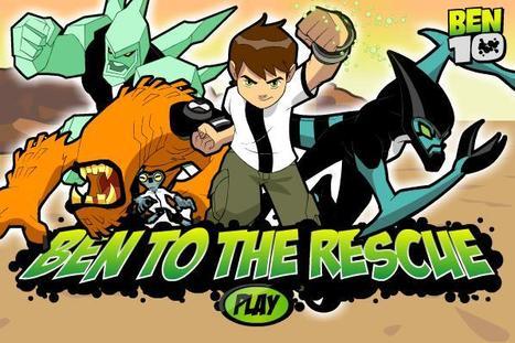 Play Online Ben Ten To The Rescue - Games Hobby | GamesHobby | Scoop.it