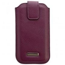 COMMANDER ROMA Leder Tasche purple f. Samsung Galaxy S5 SM-G900 | tablet pc zubehör | Navigations-Zubehoer | Scoop.it