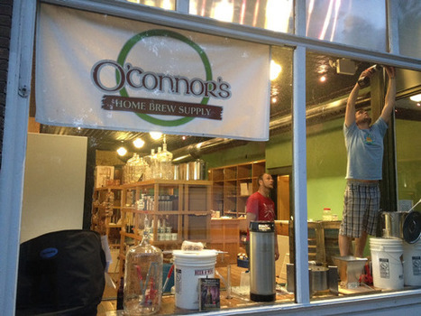 O'Connor's Home Brew Supply Store keeps things brewing with larger store, more products | Eat Local West Michigan | Scoop.it