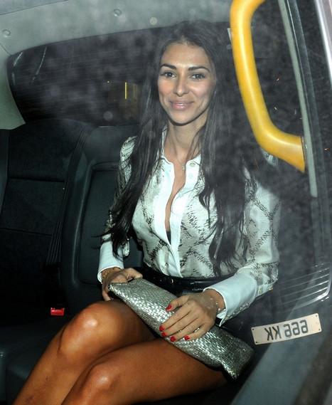 Photos : Georgia Salpa Leggy in leather mini skirt London | Radio Planète-Eléa | Scoop.it