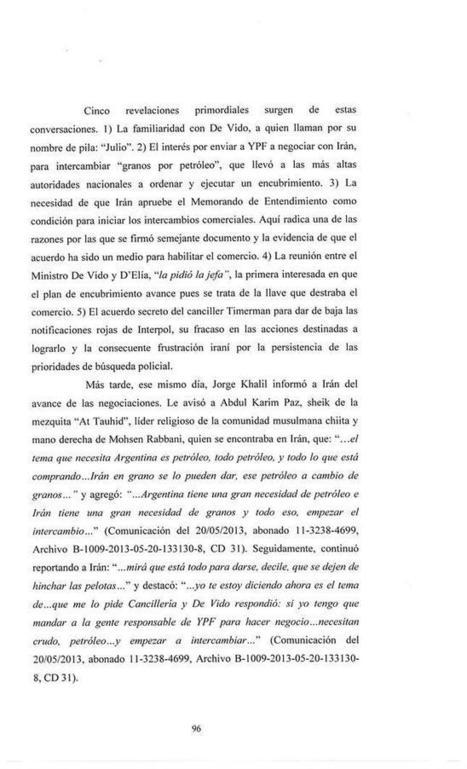 Los pasajes centrales de la denuncia del fiscal Alberto Nisman   Economía Actual   Scoop.it