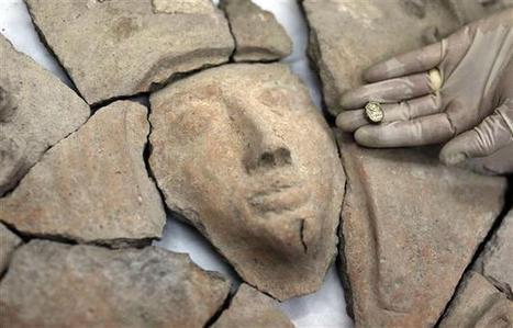 Rare sarcophagus, Egyptian scarab found in Israel | News in Conservation | Scoop.it