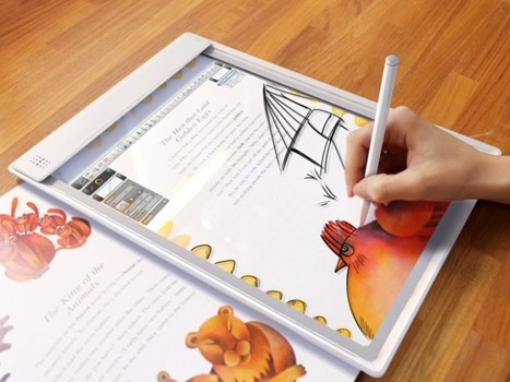 Consider the Story Potential of a Transparent Tablet - Iris augmented reality meets scanning near concept | Pervasive Entertainment Times | Scoop.it