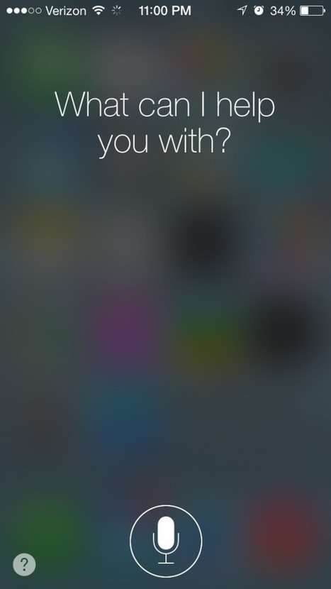 Apple's iOS 7 Software Update Sees Siri Finally Exit Public Beta - AppAdvice | iPhones and iThings | Scoop.it