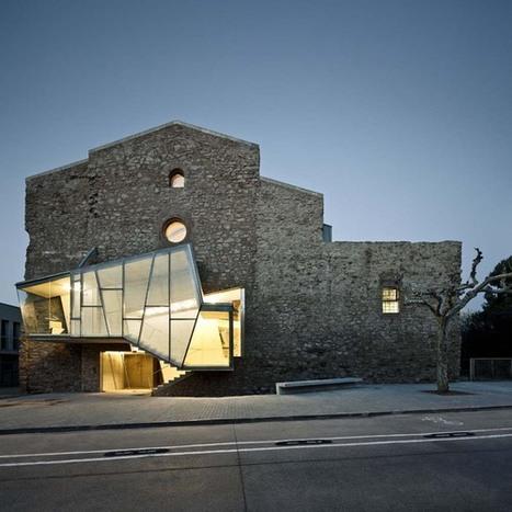 Auditorio en el Convento de Sant Francesc   The Architecture of the City   Scoop.it