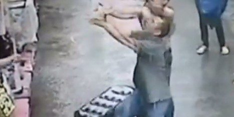 CAUGHT ON VIDEO: Miracle Catch After Baby Falls From 2nd Story Window | Xposed | Scoop.it