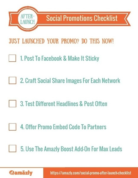 5 Tips Toward Successful Social Promotions | Business | Scoop.it