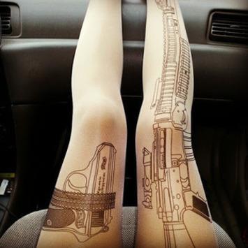 A Slip of a Girl: Legged & Dangerous | Kitsch | Scoop.it