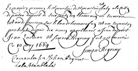 Enquête sur les navires rochelais en 1664 (1/2) | Rhit Genealogie | Scoop.it