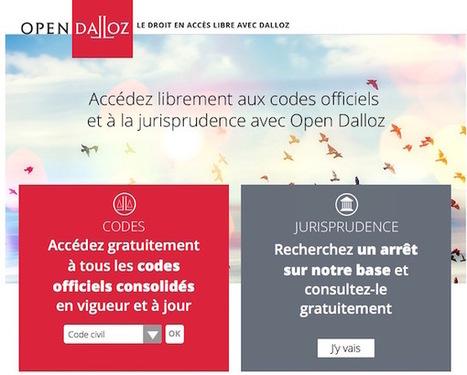 Dalloz libère le droit ! | Inès HAMMAMI | Scoop.it
