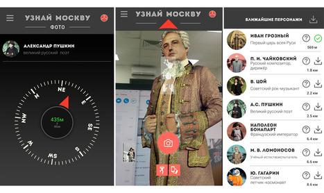 En Rusia tienen su propia versión de Pokémon Go... pero con figuras históricas del país | Educacion, ecologia y TIC | Scoop.it