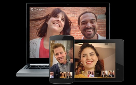 "Can Google dominate live video with Hangouts on Air? | ""Biz Mobile Marketing"" 